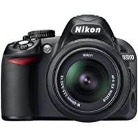 "Nikon D3100 - Cámara réflex digital de 14.2 Mp (pantalla 3"", vídeo Full HD, Kit con AF-S DX 18-105 VR), Negro - [importado]"