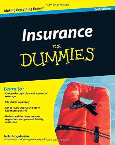 Hungelmann, J: Insurance for Dummies (For Dummies Series)
