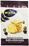 Produkt-Bild: Wasa Knäckebrot Delicate Cracker Schwarze und grüne Oliven, 150 g