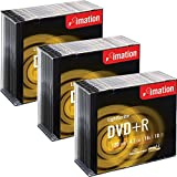 Imation DVD + R LightScribe - beschreibbare DVD im Slim Jewel Case, 16x Speed, 120Min, 4,7GB