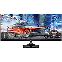 LG 25-inch (63.5 cm) UltraWide Monitor with Full HD Ready (2560 x 1080) IPS Panel, HDMI Port - 25UM58-P (Black)