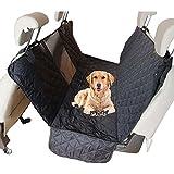 MRXUE Hund Sitzbezug Hundehütte Luxus Hinten Doppelsitz Dog Pad (Mit Sicherheit Exit Design + Isolation Net)