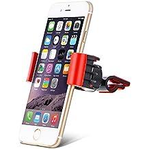 """Aduro U Grip Universal giratoria Smartphone soporte para rejillas de ventilación de coche con rotación de 360° cabezal giratorio compatible con Apple iPhone, Samsung Galaxy, HTC y todos los dispositivos de hasta 6"""""""