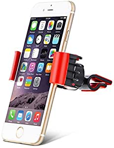 """Aduro® U-GRIP SWIVEL Universal Smartphone Air Vent Car Mount Holder with 360° Rotating swivel head compatible Apple iPhone, Samsung Galaxy, HTC and all Devices up to 6"""" (Retail Packaging)"""