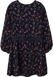 Bonito vestido de viscosa con flores para niños