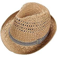5569178ccbf57 Skyeye Sombrero de Paja de los Niños UV de la Manera Visera de Sol del Bebé