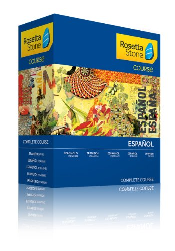 Rosetta Stone Course - Komplettkurs Spanisch (Spanien)-Discontinued from manufacturer