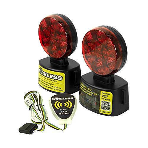 Blazer C6304Runde LED-Wireless-Licht Kit-Unter 80-inches-Rot (Licht-kit 80 über Led Trailer)