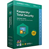 Kaspersky Total Security 2018 Standard | 3 Geräte | 1 Jahr | Windows/Mac/Android | Download