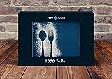 VERO PUZZLE 47633 Ernährung - Puderzucker-Kunst, 1000 Teile in hochwertiger, cellophanierter Puzzle-Schachtel
