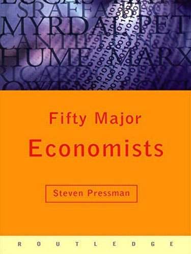 Fifty Major Economists (Routledge Key Guides) by Steven Pressman (1999-09-09)