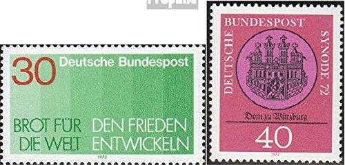 BRD (BR.Deutschland) 748,750,751,752 (kompl.Ausg.) 1972 Karneval, Heine, Brot, Synode (Briefmarken für Sammler)