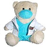 Medinc Orso Medico Dr. Cappotto Bianco con Scrub sotto. £1 da ciascun Orso Donato all'ospedale pediatrico