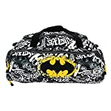 Karactermania Batman Tagsignal-Nomad Sports Bag Sporttasche, 57 cm, 13.5 liters, Grau (Grey)