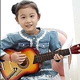 E Support TM New Kids débutants pratique 53,3cm Guitare acoustique 6cordes avec corde et médiators cadeau jouet musical instrument pour les enfants