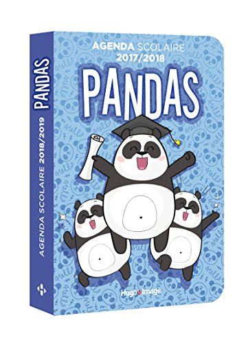 Agenda scolaire 2018-2019 Panda par Collectif