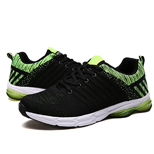 Veluckin Zapatos para Correr Hombre Aire Libre y Deporte Transpirables Casual Zapatos Gimnasio Sneakers