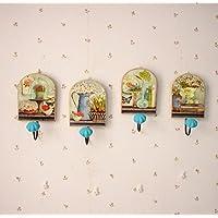 WHH Creative sulla parete gancio appendiabiti in legno/Abbigliamento store/soggiorno decorazione da parete/gancio appendiabiti/Alla pastorale americana 2