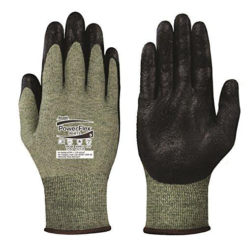 ansell-powerflex-80-813-guanto-per-usi-speciali-protezione-meccanica-nero-taglia-11-sacchetto-di-12-