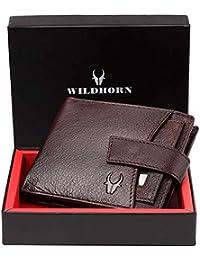 WildHorn Brown Men's Wallet (WH2066A)