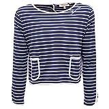 2777X Maglia Bimba Twin-Set Simona BARBIERI Girl t-Shirt Blue [10 Years]