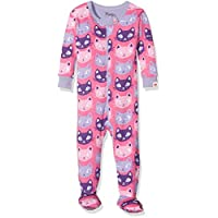 Hatley Baby Girls Footed Coverall-Farm Friends Footies