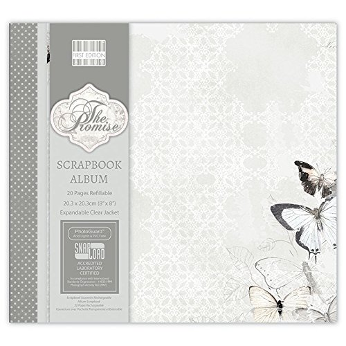 first-edition-the-promise-album-con-papel-para-manualidades-transparente-2032-cm-x-2032-cm