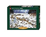 Heye 29566 - Standardpuzzle, Jean-Jaques Loup, Napoleon`s Winter, 2000 Teile