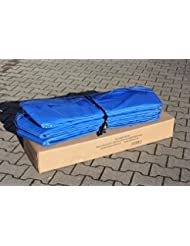 Trampoline federkranzabdeckung 10 fT ou protège couronne bleu 305 cm