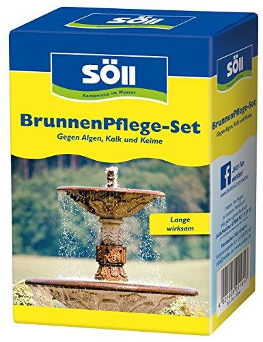 Söll Brunnen Pflege-Set bestehend aus BrunnenDesinfektion und SpringbrunnenKlar, 250 ml, 1 Stück, 20181