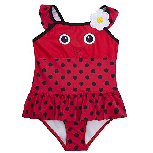 Baby Town BabyTown Baby Mädchen Neuheit Badeanzug Gr. 12-18 Monate, marienkäfer