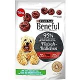 Beneful Snacks Fleisch-Bällchen Hundesnack Beutel, 7er Pack (7 x 70 g)