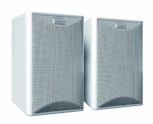 Quadral Maxi 440 2-Wege Bassreflex Regallautsprecher Paar (100/150 Watt) weiß