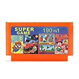 HITSAN 190 in 1 8 Bit Integrated Circuit Game Cartridge Contra1 Adventure Island for NES Nintendo FC [video game]