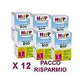 HiPP - latte Hipp 1 da 600 grammi X 12 Confezioni - Pacco Convenienza
