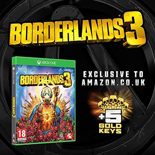 Borderlands 3 with 5 Gold Keys DLC (Exclusive to Amazon.co.uk) (Xbox One)