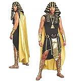 Kostüm Pharao Unas Gr. M- XL König Ägyptens Verkleidung Karneval Ägypter (L)