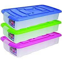 Royaume-Uni disponibilité 71a81 76c49 Amazon.fr : caisse plastique - Bleu