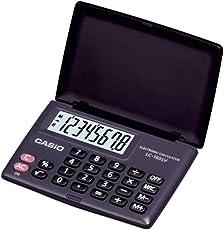 Casio LC-160LV Portable Calculator (Black)