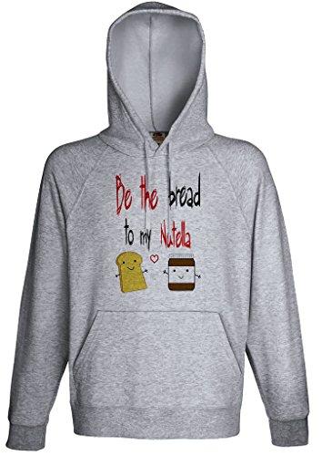 Nutella Lover Hoodie Custom Made Hooded Sweatshirt (M) Chocolate Hooded Sweatshirt Hoodie