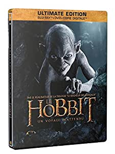 Le Hobbit : Un voyage inattendu [Ultimate Edition - Blu-ray + DVD + Copie digitale - SteelBook Bilbon]
