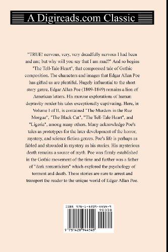 The Complete Short Stories of Edgar Allan Poe (Volume I of II): 1