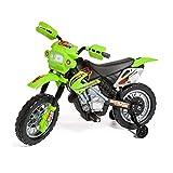 Kinder Elektromotorrad Motocross mit Power-Akku und Powermotor, Elektrisches Motorrad, Elektro-Roller, Dreirad, Top Design