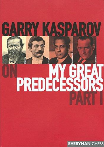 Gary Kasparov's on My Great Predecessors: Part 1 by Garry Kasparov (24-May-2003) Hardcover