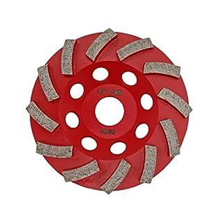 diatool geschweißt Diamant segmentiert Turbo Schleifteller hartem Beton, Stein, Mauerwerk Schleifscheibe garantiert hohe Qualität