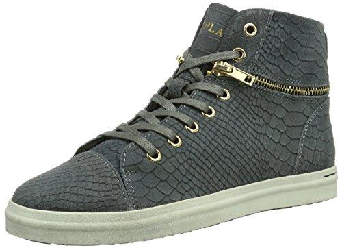 REPLAY Cream Damen Hohe Sneakers Grau (CH GREY 14)