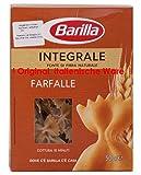 Barilla Farfalle Integrale 11 x 500g Teigwaren aus Vollkornhartweizengrieß,