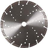 KLINGSPOR Diamanttrennscheibe DT900B Spezial für Motortrennschleifer, Aufnahme 20 mm, Durchmesser 350 mm, 325080