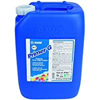 """""""Primer G"""" Dispersionsgrundierung, für saugfähige & nicht saugfähige Untergründe im Innenbereich (1 Kunststoffkanister 10 Liter)"""
