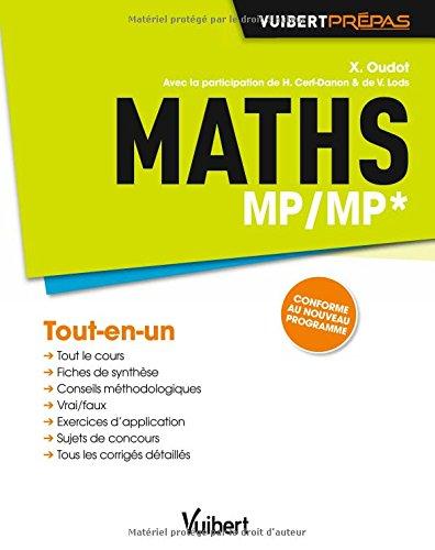 Maths MP/MP* - Tout-en-un - Conforme au nouveau programme